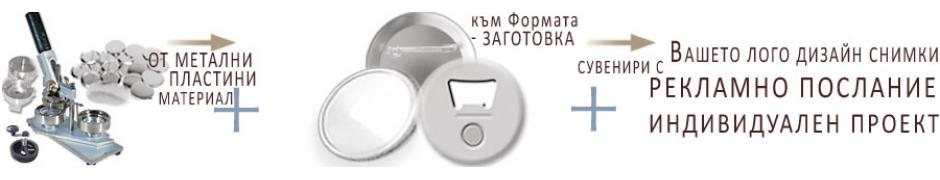 Метални гланцови магнити и огледалца