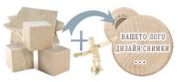 Кръгли дървени магнити 53 мм (1)